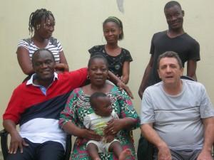 La famille en Côte D'ivoire ( Abidjan )